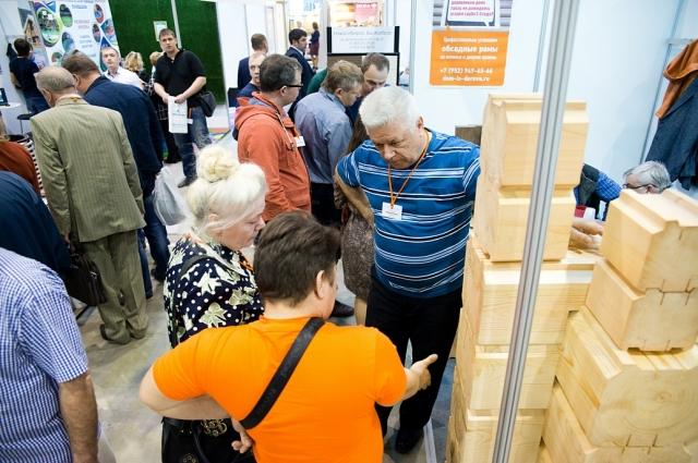 Посещение выставки — это возможность выбрать и купить материалы для строительства