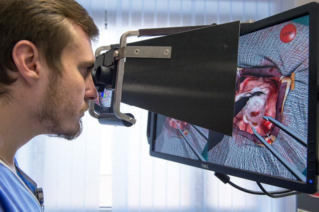 С симулятором для лор-специалистов врач «проникает» вглубь органа.