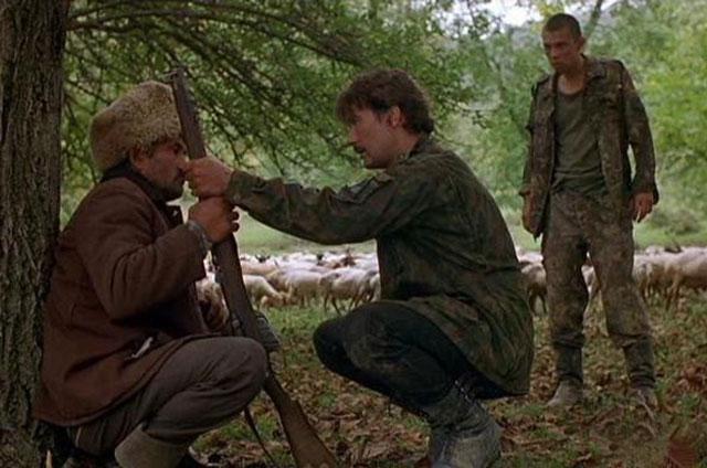 Кадр из фильма «Кавказский пленник»