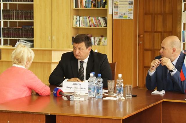На личном приеме граждан в Десногорске.