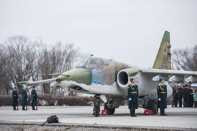 Нароссийской военной авиабазе «Кант» вКиргизии.