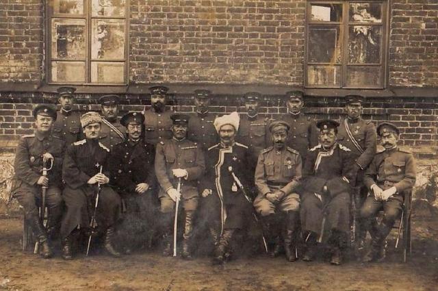 Атаман Семёнов в Березовке (под Верхнеудинском) в 1919 году.