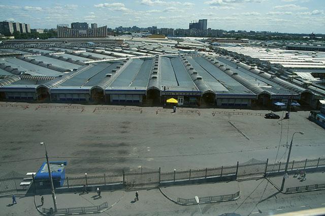 Черкизовский рынок. Вид сверху.