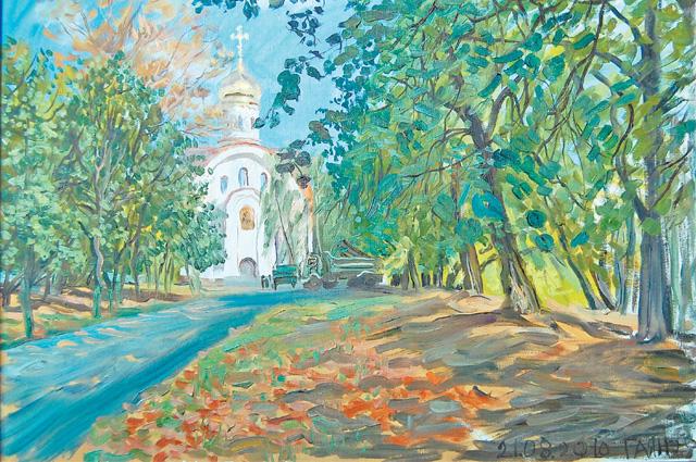 «Церковь на Нахимовском».