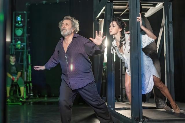 Борис Эйфман на репетиции спектакля «Роден».