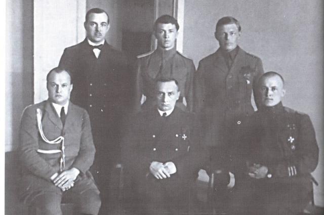Вице-адмирал А. В. Колчак, 1918 г.