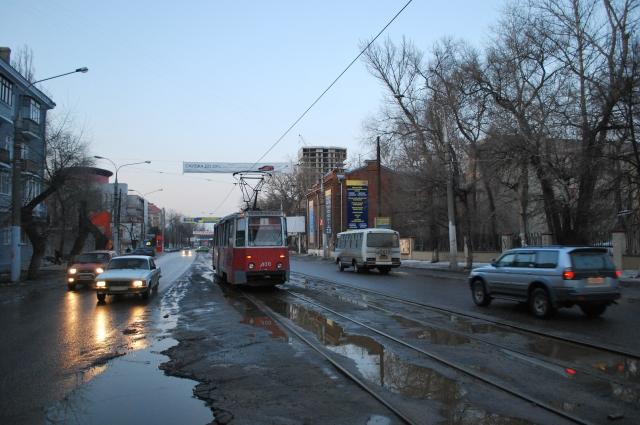 Вечер на Кольцовской улице