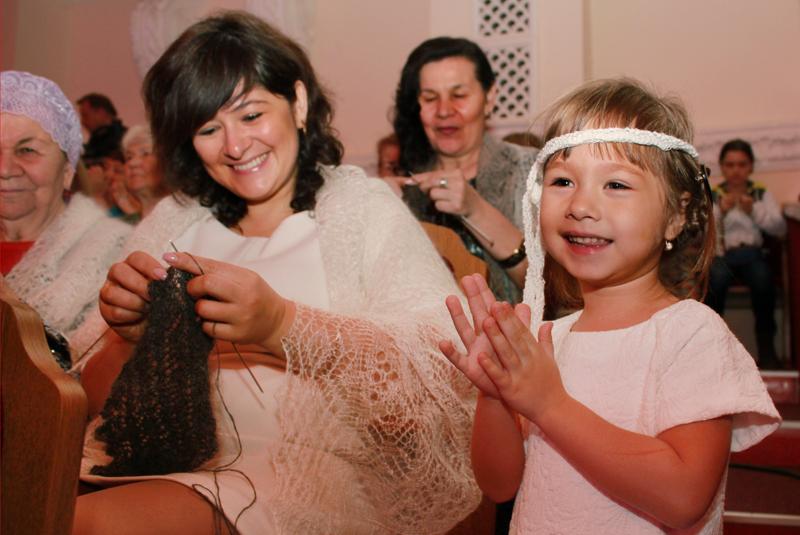 Вязание приносит мастерицам истинную радость