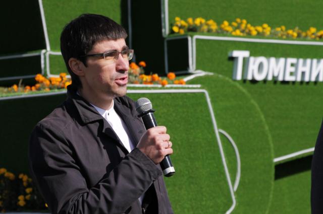 Глава управы Ленинского АО Александр Ильин.