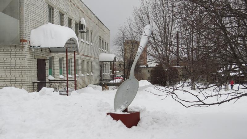 Это ложка вошла в топ-100 интересных памятников России.