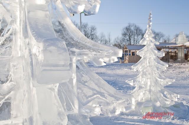 Ледовые городки будут работать сразу в нескольких городских округах.