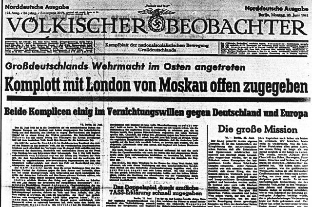 Печатный орган НСДАП V lkischer Beobachter