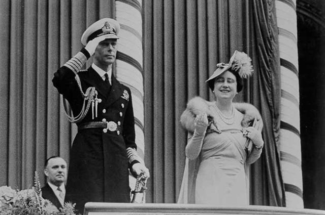 Король Георг VI и королева Елизавета в Торонто. 1939 год