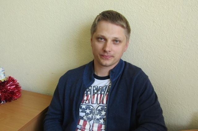 Прораб административно-хозяйственного отдела Павел Гусев.