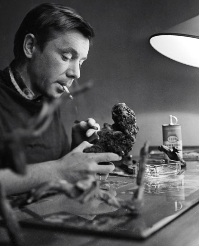 Олег Анофриев. 1964 год.