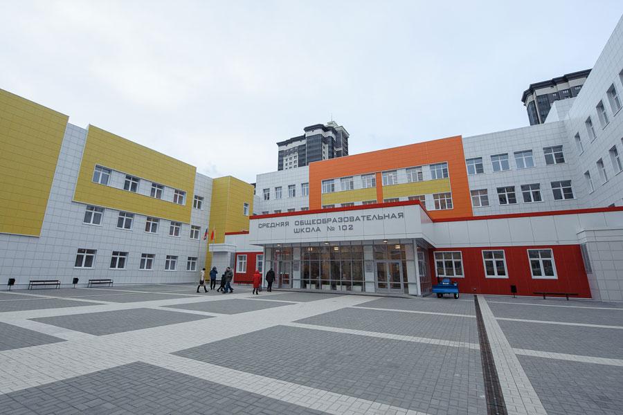 Здание школы построили на полгода раньше, чем планировалось.