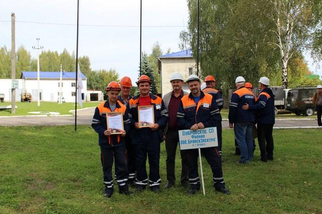2 место – команда Дубровского СП