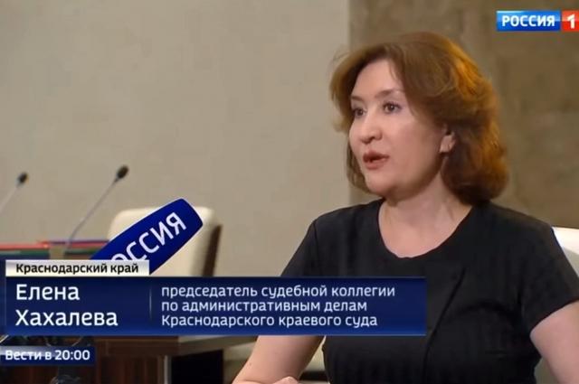 Елена Хахалева отвергает обвинения в интервью после начала скандала.