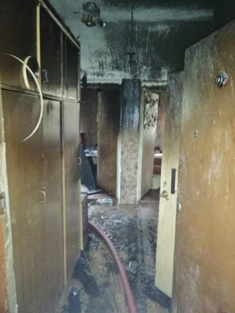 Пожар в Ржеве