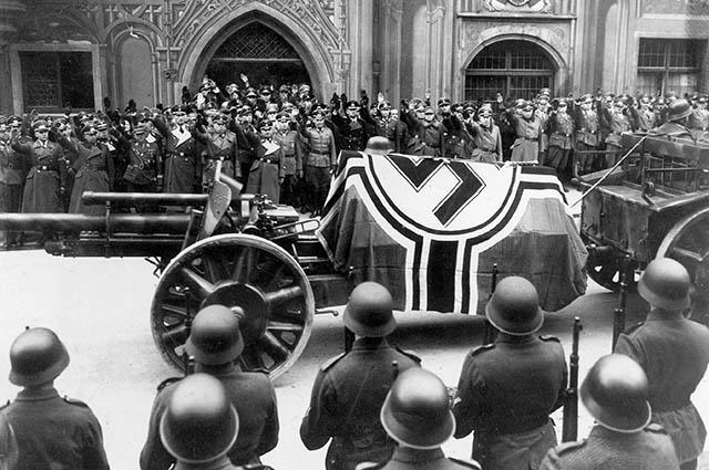 Похороны Эрвина Роммеля