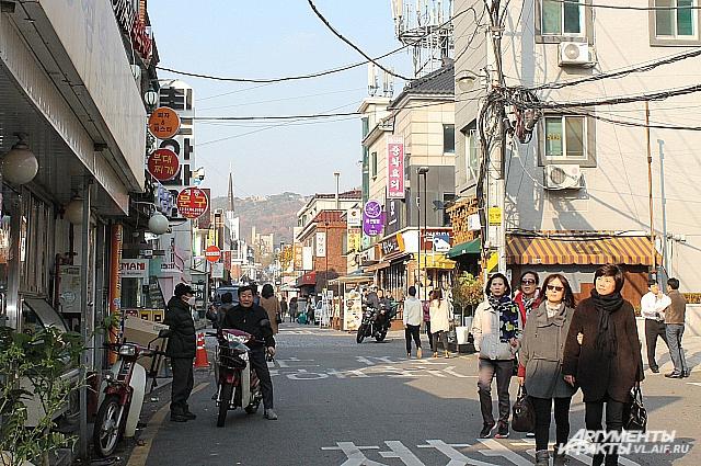 В Корее другое отношение к людям.