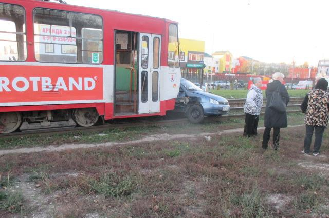 ДТП с трамваем.