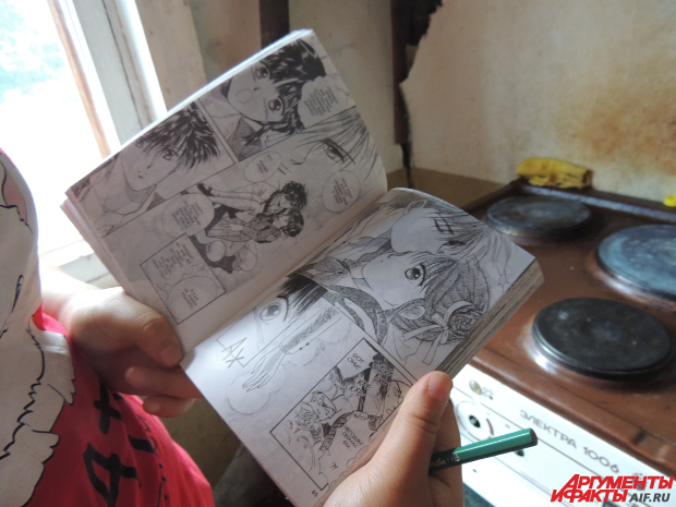 Рисунки в технике манга еще одно увлечение талантливой девочки
