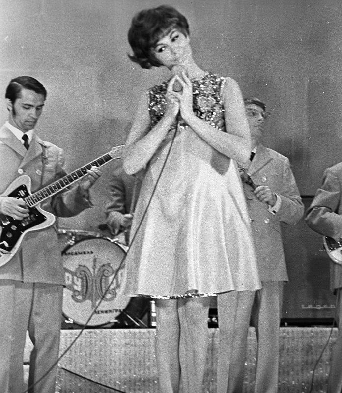 Эдита Пьеха и «Дружба», 1968 г.