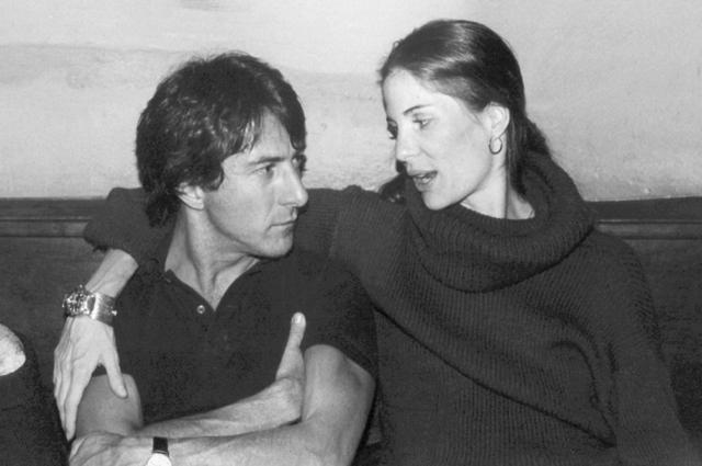 Дастин Хоффман с супругой Анной.