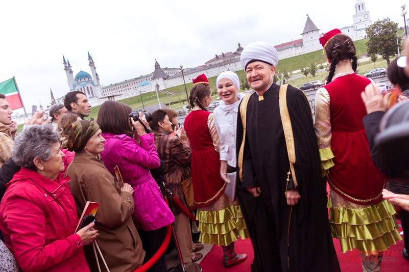 Президент фестиваля председатель Совета муфтиев России муфтий шейх Равиль Гайнутдин.