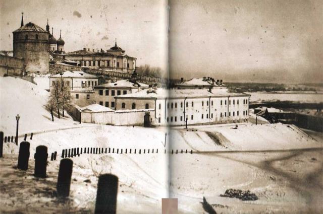 Пересыльная тюрьма в Казани, где Ленин провел три дня после сходки.