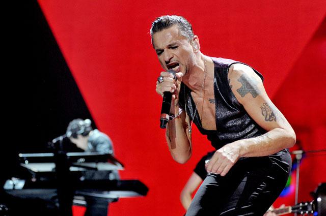 Depeche Mode. 2014 год. Выступление в Италии
