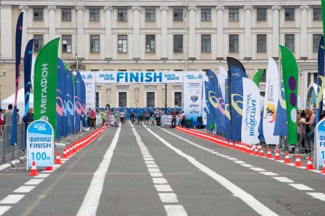 «МегаФон» выступил официальным партнером международного марафона «Белые ночи».
