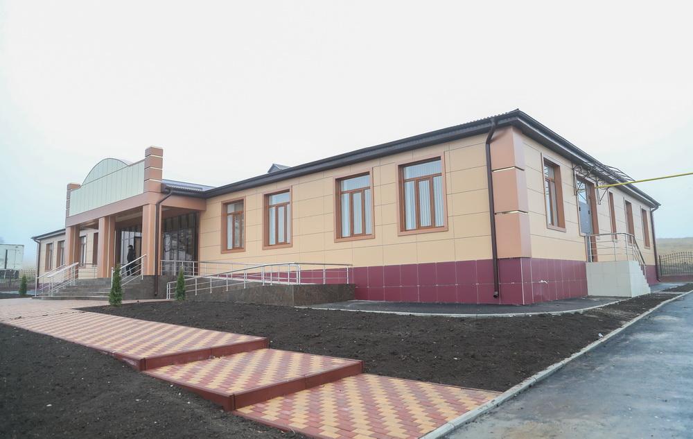 Новые дома культуры на 200 мест построены в Долаково, Гази-Юрте и Али-Юрте.
