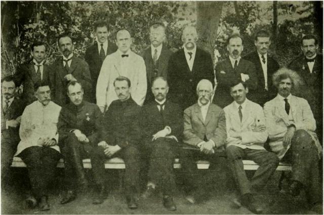 На общем снимке Временного сибирского правительства Гришин-Алмазов и Иван Михайлов сидят рядом (третий и четвёртый слева).
