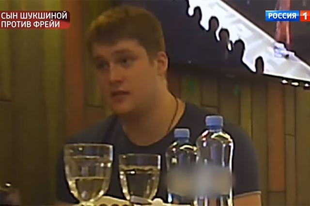 Макар Касаткин на встрече с Анной Шукшиной
