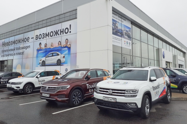 Всем участникам тест-драйва и гостям Большой OFF-ROAD VW -особые предложения на покупку новых Volkswagen Touareg, Teramont  и Tiguan!