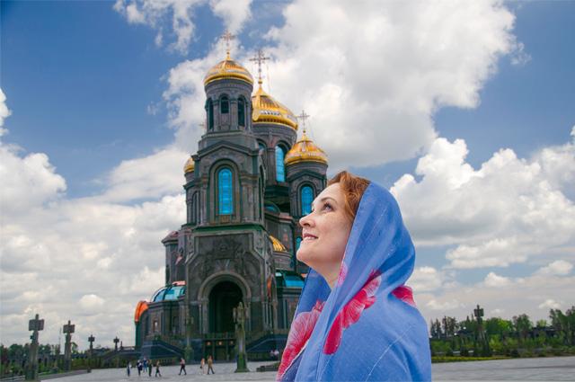 Подмосковье. Главный храм ВСРФ.