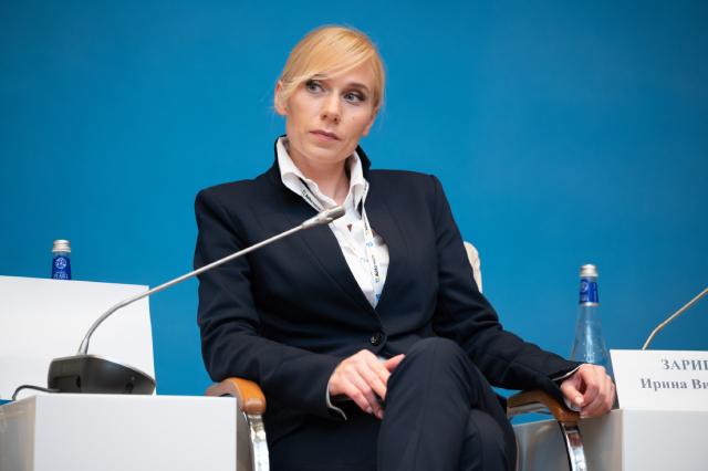 Председатель Общественного Совета по развитию такси Ирина Зарипова.