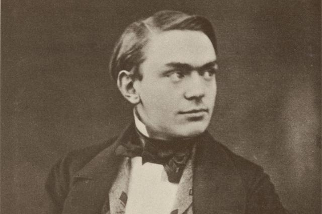 Альфред Нобель в возрасте около 30 лет