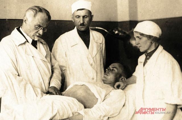 казанский военный госпиталь в годы ВОВ