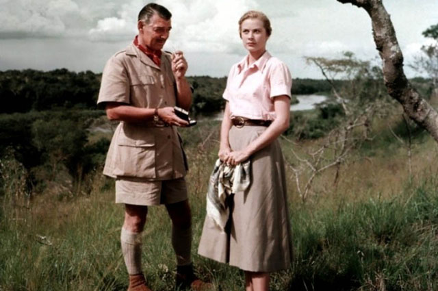 Грейс Келли в картине Могамбо . 1953