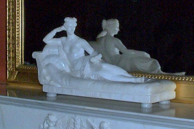 Фанни Лир в виде Венеры с яблоком, скульптор Томазо Солари. Из коллекции Юсуповского дворца в Санкт-Петербурге.