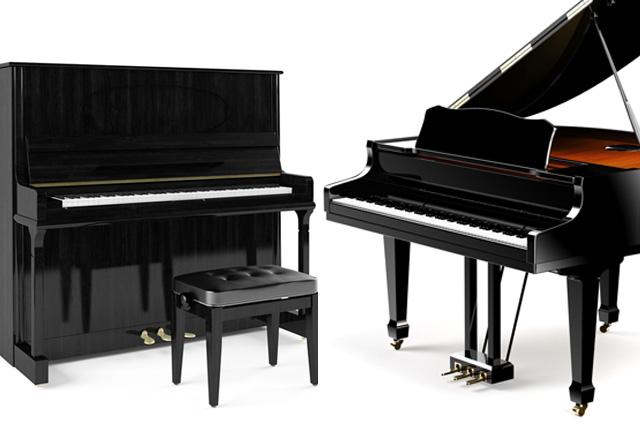 Пианино и рояль