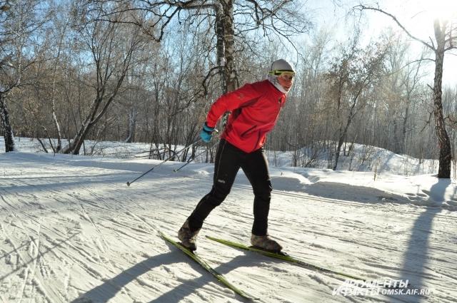 Успейте в этом году покататься на лыжах!