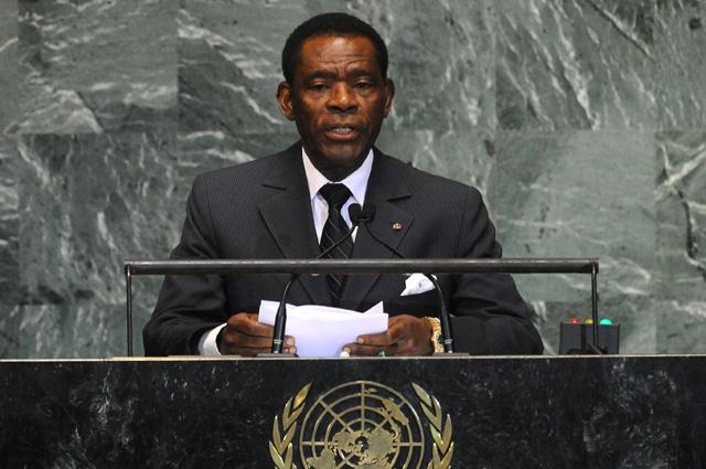 Теодоро Обианг Нгема Мбасого.