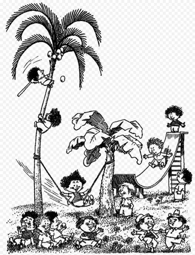 Дурацкий остров. Там все валяют дурака и обрастают шерстью.