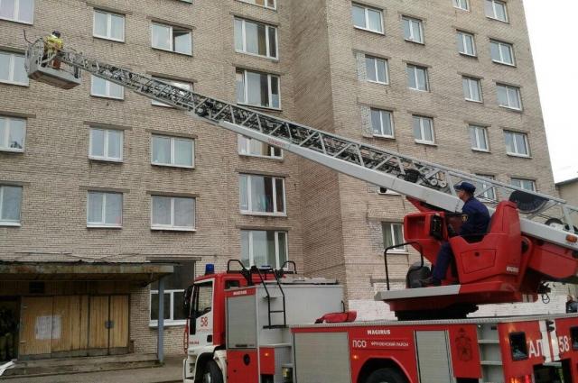 Сотрудники ГУ МЧС смоделировали ситуацию, требующую срочной массовой эвакуации.