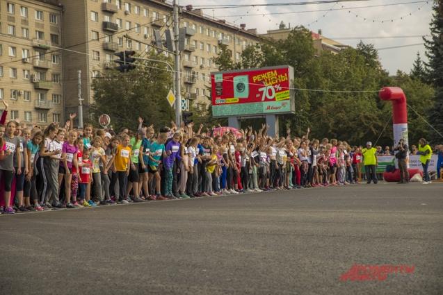 Главная дистанция - полумарафон памяти А. Раевича.