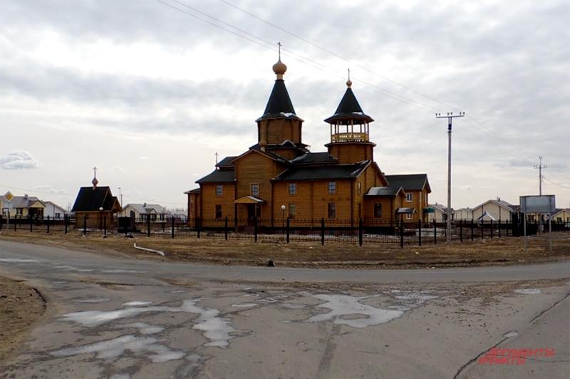 Церковь в Верхней Верее